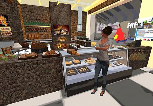 Comprando el pan by Cherokeeh Asteria