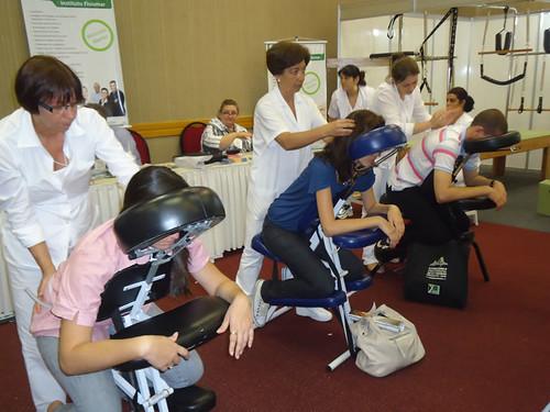 Participantes do nosso stand do XIX Congresso Brasileiro de Fisioterapia by institutofisiomar