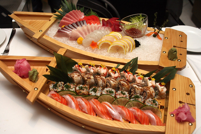 Sushi and Sashimi: Two boatloads of sheer pleasure