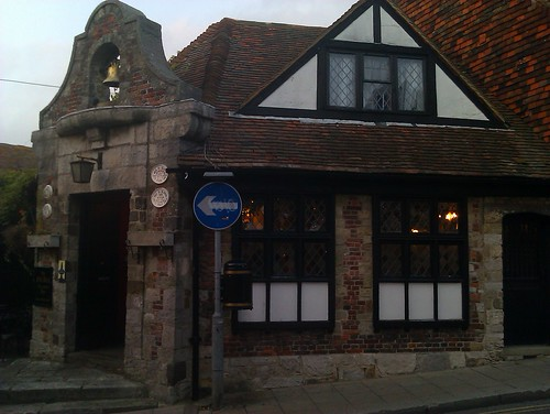 """The oldest pub in Rye"""