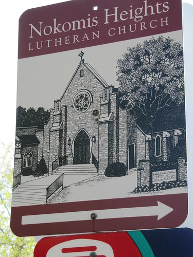 Nokomis Heights Lutheran Church Sign