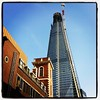 The Shard (Robin) Tags: square squareformat lomofi iphoneography instagramapp uploaded:by=instagram foursquare:venue=4af9a82df964a520fd1222e3