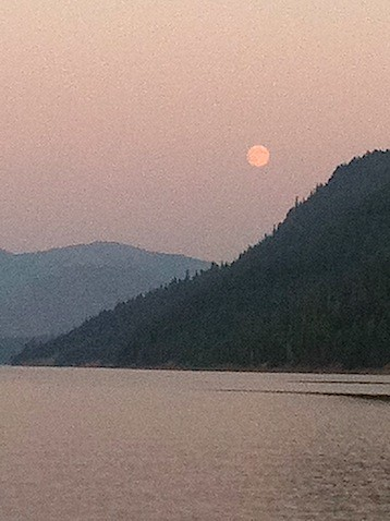 Moon Over Rimrock Lake.JPG