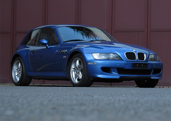 1998 BMW Z3 M Coupe | Estoril Blue | Estoril/Black