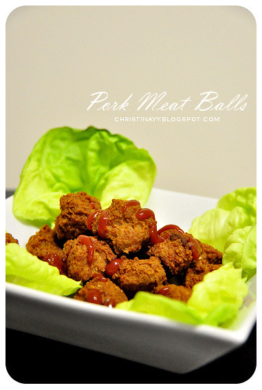 Chinese Pork Meat Balls