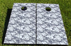 Urban Camouflage Cornhole Boards