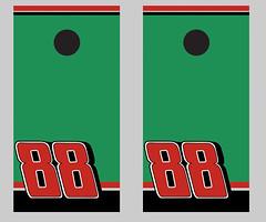 Racing Theme Cornhole Boards