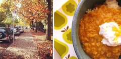 Golden Lentil Dal with Ginger & Orange (you can count on me) Tags: autumn red orange fall soup stew rice dal curry yogurt lentils poppytalk