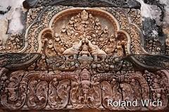 Banteay Srei (Rolandito.) Tags: asia cambodge cambodia kambodscha siem reap angkor banteay srei