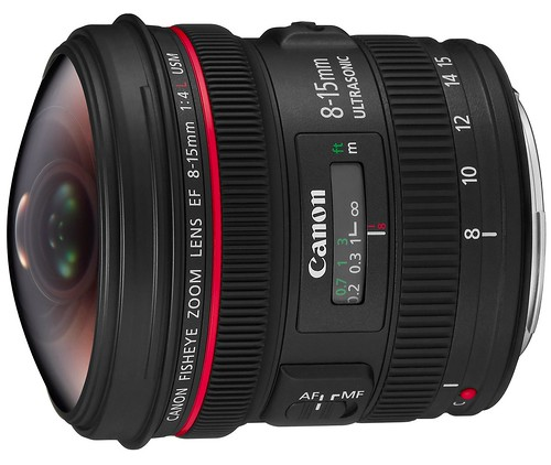 Canon 8-15mm f/4L Fisheye USM