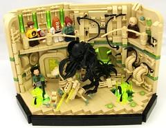 Ledge (Bart De Dobbelaer) Tags: lego space vignette hex