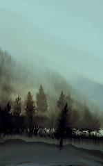 winter's day (Oly_m) Tags: winter mist painterly painting 1st lx3 mixerbrush