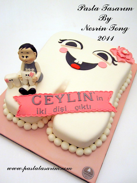 MY FIRST TOOTH CAKE - CEYLİN