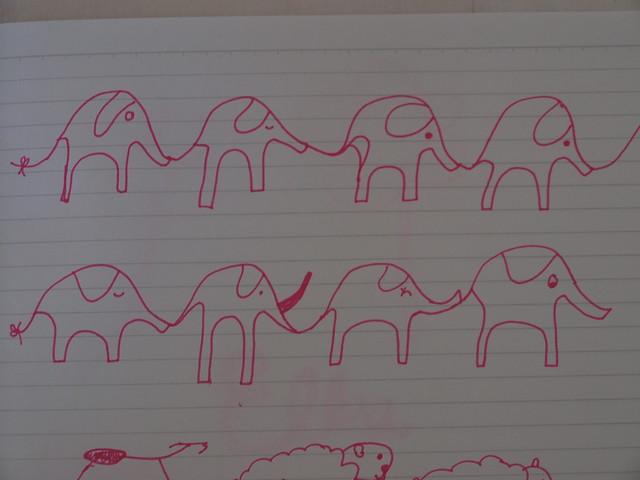 skinny elephants