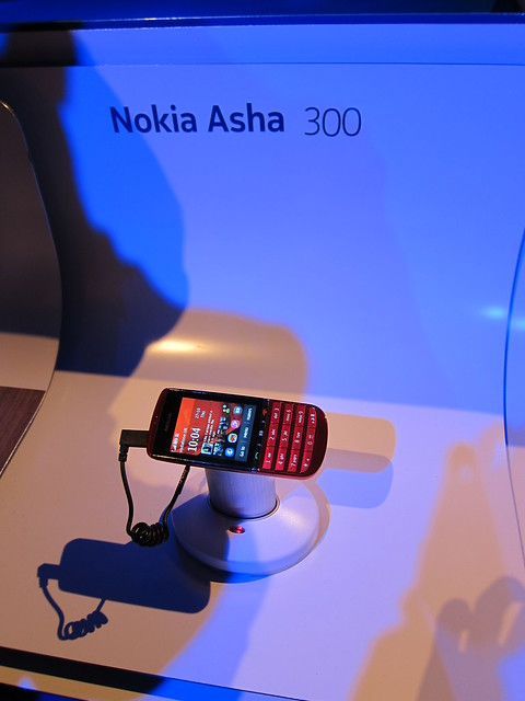 Nokia Asha 300 Display