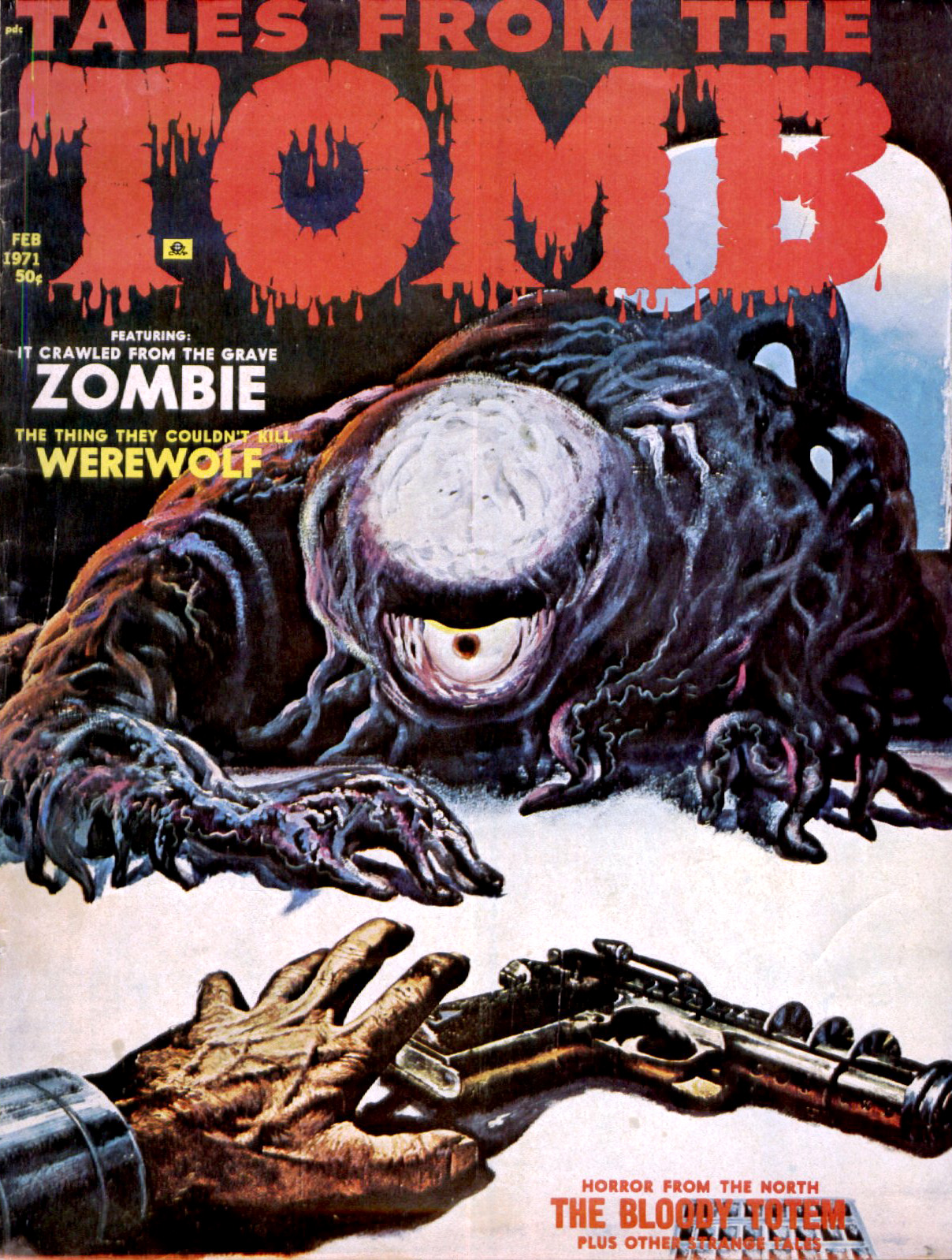 Tales from the Tomb - Vol. 3 #1 (Eerie Publications, 1971)