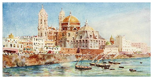 002-Catedral de Cadiz-Cathedral cities of Spain 1909- William Wiehe Collins