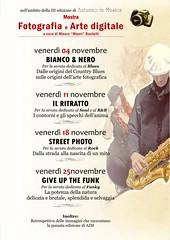 Il poster della mostra fotografica (AutunnoInMusica) Tags: mostra italia bologna fotografica calderara autunnoinmusica