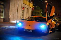 Super Veloce (Willem Rodenburg) Tags: door orange 3 up by night photoshop 50mm lights nikon doors 33 extreme picasa super montecarlo monaco lp nightlife mm 50 lamborghini rare supercar sv willem murcielago lightroom 670 v12 lambo veloce d90 cs5 hypercar rodenburg lp6704 lp670