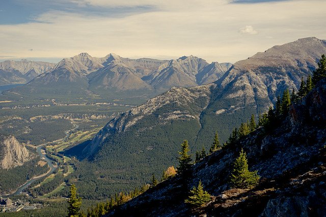 Overlooking Banff
