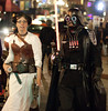 Vader and Leia (San Diego Shooter) Tags: portrait halloween sandiego cosplay streetphotography halloweencostumes downtownsandiego costumeideas sexyhalloween sexyhalloweencostumes sandiegopeople sandiegostreetphotography sandiegohalloweencostumes halloween2011 sandiegohalloween2011