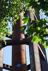 Wasserturm, Schneberger Sdgelnde (Forest Pines) Tags: park railroad berlin tower abandoned germany schneberg deutschland watertower eisenbahn railway disused bahn derelict wasserturm naturpark schnebergersdgelnde naturparkschnebergersdgelnde