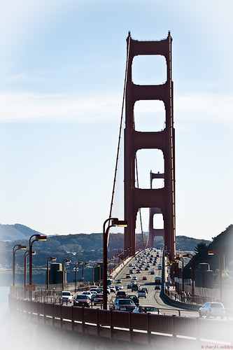 golden gate bridge... by credd