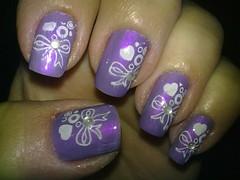 esmalte roxo sinful color (julitamoreira) Tags: art nail artisticas esmaltes carimbos decoradas konad doloridas