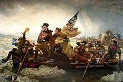 Great Moments in History (Vol. 1) (jrtce1) Tags: photoshop satire humor kfc georgewashington kentuckyfriedchicken americanhistory photoshopelements fastfoodnation exploreworthy emanuelleutze historyhumor jrtce1