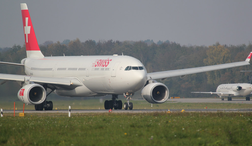 Swiss Airbus A330-343X
