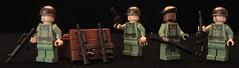 Vietnam Squad (s n k y) Tags: green us sand lego vietnam guns marines m16 nam m14