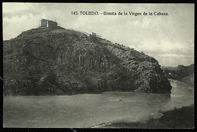 Ermita de la Cabeza a comienzos del siglo XX. Foto Grafos