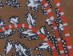 Detail of Chicken Collage as of November 3, 2011 by randubnick