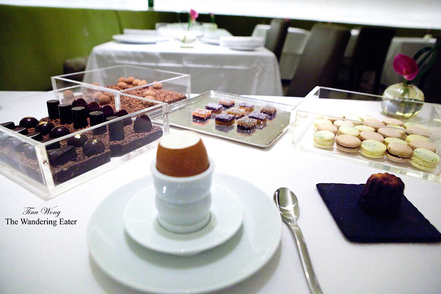 All of the petit fours on my table