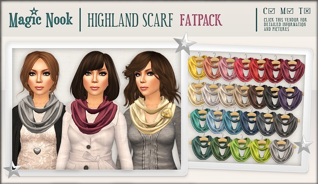 [MAGIC NOOK] Highland Scarf