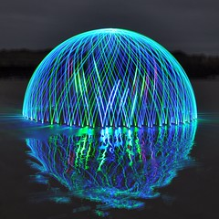 Superdome - wants to be a superorb (Ningaloo.) Tags: light beach wheel monster painting pembroke big led massive dome lp huge rotation ningaloo guernsey aub biggest superdome shabba phoeniximmortal lightartmasterpiece