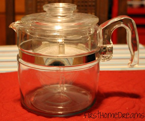 Pyrex Flameware Coffee Pot