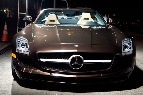 A (very sweet) Mercedes-Benz SLS AMG
