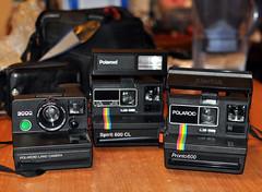 My polaroids (108 108 108) Tags: camera film 35mm polaroid photography spirit cameras 600 fotografia pronto 3000 macchina cl analogica fotografica analogic macchine pellicola fotografiche pronto600