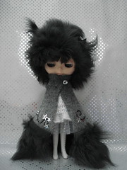 Dark Matter hat and cape (polly :)) Tags: doll blythe starlight pollymakes