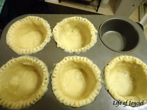 Molded PIe Dough