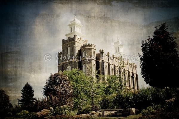 Logan Vintage LDS Temple Prints -