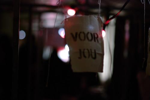 """""""Voor Jou"""", Lichtjes Bazaar, Utrecht"""