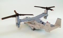 MV-22B Osprey (12) (Mad physicist) Tags: usmc lego military marines osprey v22 tiltrotor mv22b