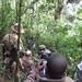 Filming rare mountain gorillas, Kahuzi-Biega National Park, Congo