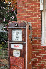zgaspump (babyfella2007) Tags: old playing jason yard vintage carson hall store child general grandmother antique grant south great rusty running gas pump southern forgotten taylor carolina americana mae willie granny exxon kaminer leesville batesburg
