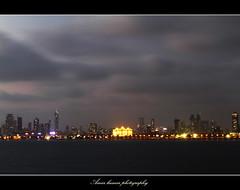 Mumbai cityscape from Marine drive (Amar.kumar) Tags: sunset 7d seascap mumbaimarinedrive mumbailandscap queensneckles