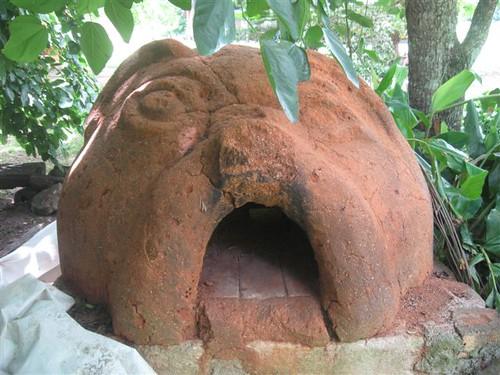 Cob woodfire oven