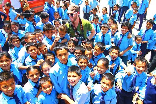 Mutineer Alan Kropf in Nepal - Clean Water Crusader
