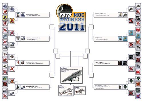 FBTB MOC Madness 2011 Building Tournament Board Elite Eight